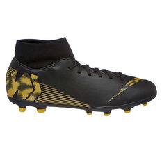 e2d40145c Nike Mercurial Superfly VI Club Mens Football Boots Black / Gold US Mens 7  / Womens ...