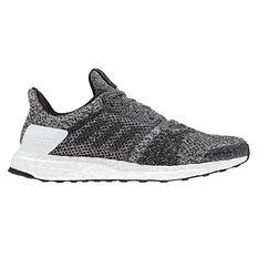 adidas Ultraboost ST Mens Running Shoes White / Black US 7, White / Black, rebel_hi-res