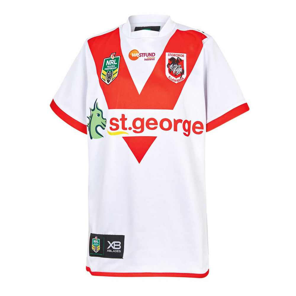 29d685baa St George Illawarra Dragons 2018 Youth Home Jersey