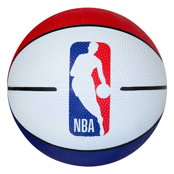 Spalding Logoman Mini Rubber Basketball, , rebel_hi-res