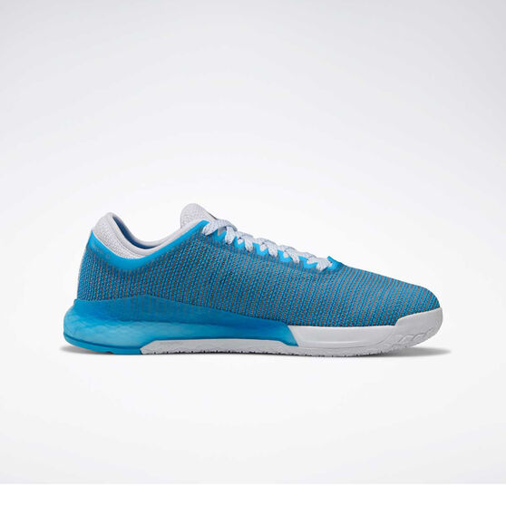Reebok Nano 9 Womens Training Shoes, White / Blue, rebel_hi-res
