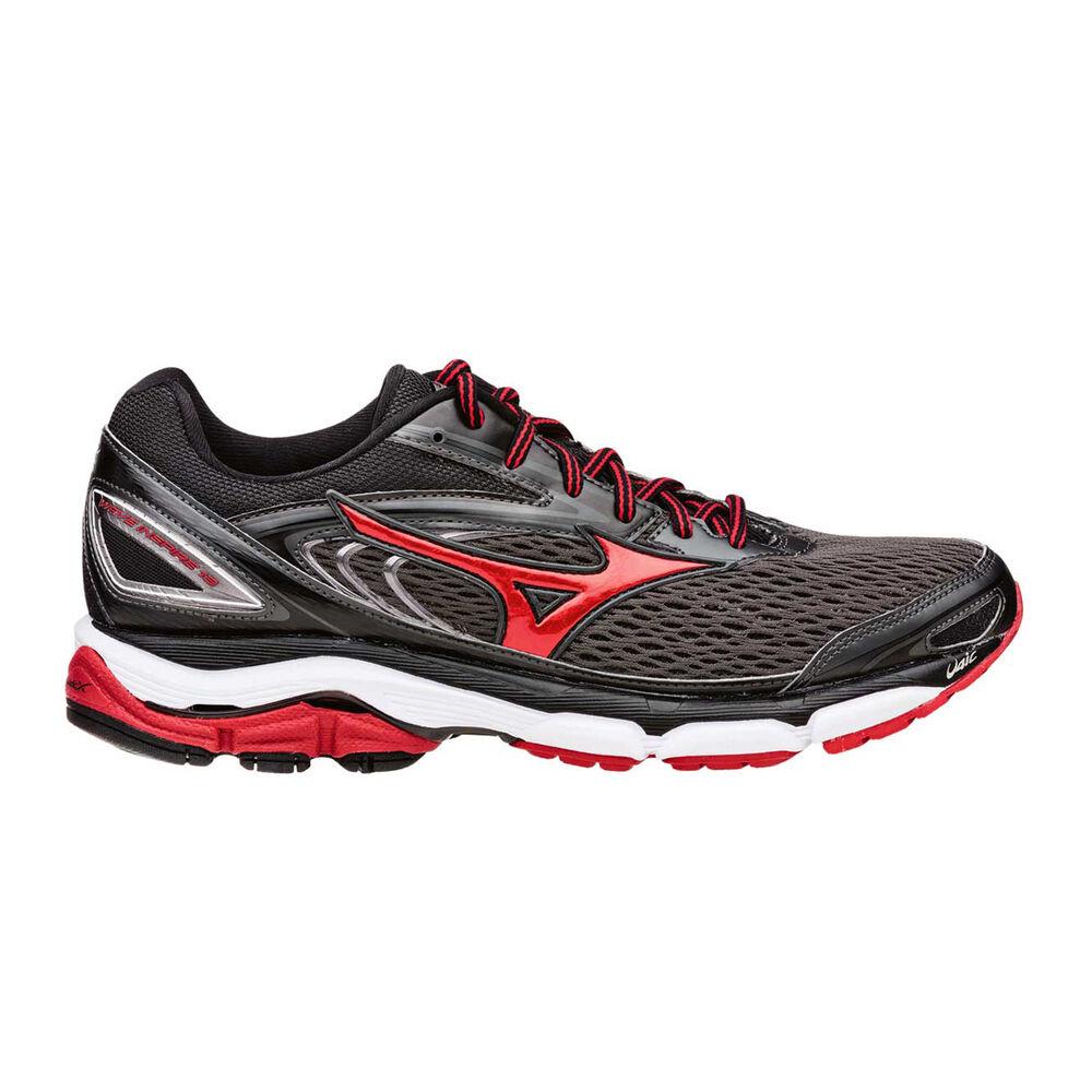 8b331d17ed2c Mizuno Wave Inspire 13 Mens Running Shoes Grey / Red US 9 | Rebel Sport