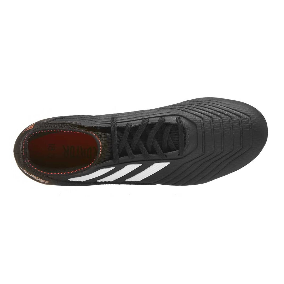82a6d65f0046 ... uk adidas predator 18.3 mens football boots black white us 7 adult  black white f27a9 81409 ...