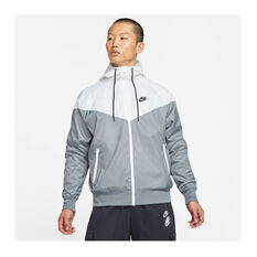 Nike Mens Sportswear Windrunner Jacket Grey XS, Grey, rebel_hi-res