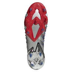 adidas Predator Freak .1 Football Boots, Silver, rebel_hi-res