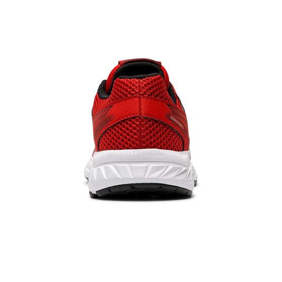 Asics Gel Contend 5 Kids Running Shoes, Red / White, rebel_hi-res