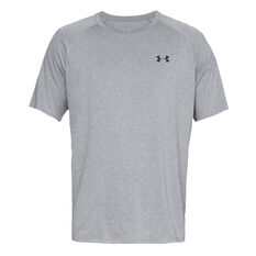 Under Armour Mens Tech 2.0 Training Tee, Grey, rebel_hi-res