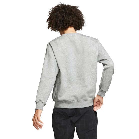 Nike Sportswear Mens Club Sweatshirt, Grey, rebel_hi-res