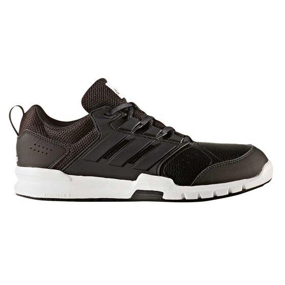 brand new de380 f0fd1 adidas Galaxy 4 Trainer Mens Running Shoes Black   White US 8, Black   White