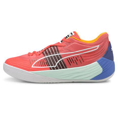 Puma Fusion Nitro Basketball Shoes Red/Blue US 7, Red/Blue, rebel_hi-res