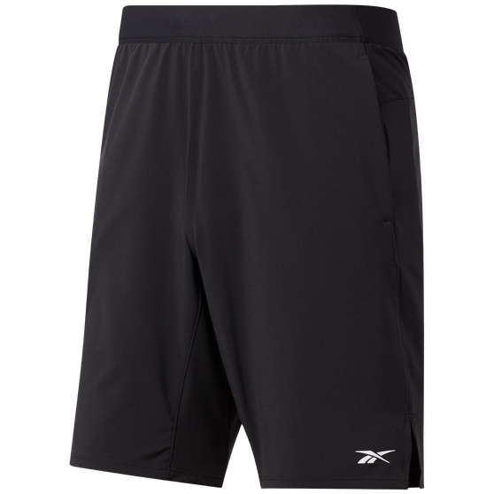 Reebok Mens Speed Shorts, Black, rebel_hi-res