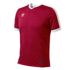 Umbro Velocity Knit Jersey Red XS YTH, Red, rebel_hi-res
