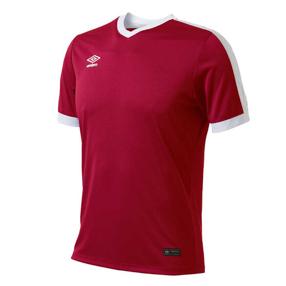 Umbro Velocity Knit Jersey, Red, rebel_hi-res