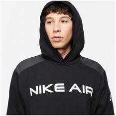 Nike Air Mens Pullover Hoodie Black XS, Black, rebel_hi-res