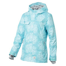 Rojo Womens Grace Ski Jacket Blue XS, Blue, rebel_hi-res