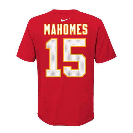 Kansas City Chiefs Patrick Mahomes 2020 Kids Essential Tee, Red, rebel_hi-res