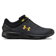 Under Armour Charged Escape 3 Mens Running Shoes Black / Gold US 7, , rebel_hi-res