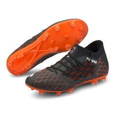 Puma Future 6.3 Netfit Football Boots, Black/Orange, rebel_hi-res