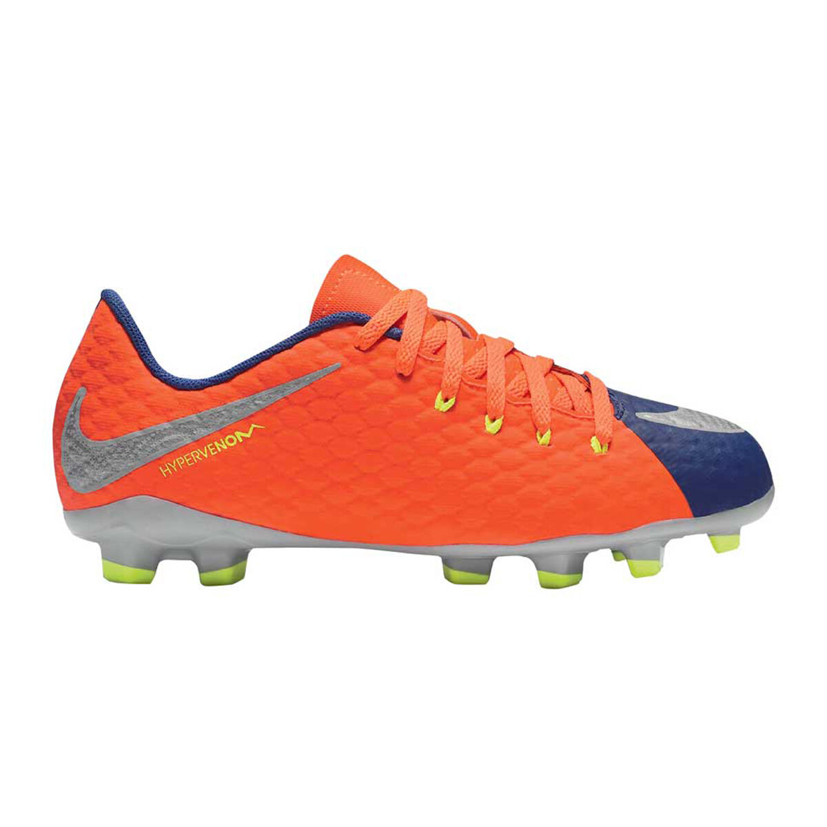 9660385f0 ... usa nike hypervenom phelon iii junior football boots blue orange us 4  junior blue 912a2 906d2