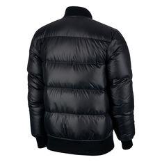 Nike Mens Windrunner Bomber Jacket Black XS, Black, rebel_hi-res