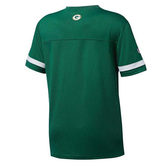 Green Bay Packers Poly Mesh Tee S, , rebel_hi-res