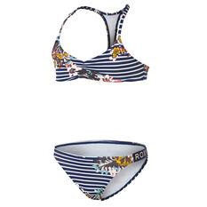 Roxy Keep In Flow Athletic Bikini Set Blue 8, Blue, rebel_hi-res