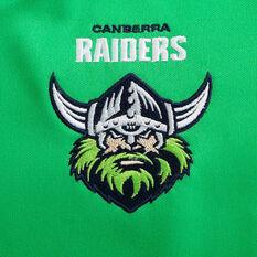 Canberra Raiders 2020 Kids Home Jersey, Green, rebel_hi-res