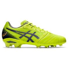 Asics Ultrezza Football Boots Lime US Mens 7 / Womens 8.5, Lime, rebel_hi-res