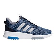 adidas Cloudfoam Racer TR Kids Casual Shoes Navy / Grey US 1, Navy / Grey, rebel_hi-res
