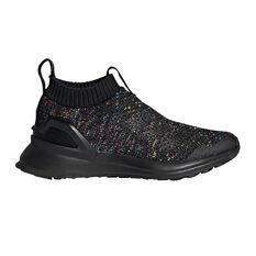 arrives 0a0b2 d0d09 adidas RapidaRun Laceless Knit Kids Running Shoes Black   Multi 11, Black    Multi, ...