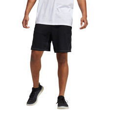 adidas Mens Urban Global Shorts Black S, Black, rebel_hi-res