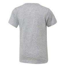 Nike Boys Futura Tee Grey / Black 4, Grey / Black, rebel_hi-res
