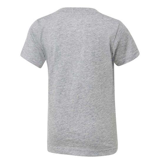 Nike Boys Futura Tee, Grey / Black, rebel_hi-res