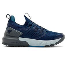 Under Armour Project Rock 3 Kids Training Shoes Navy/Blue US 4, Navy/Blue, rebel_hi-res
