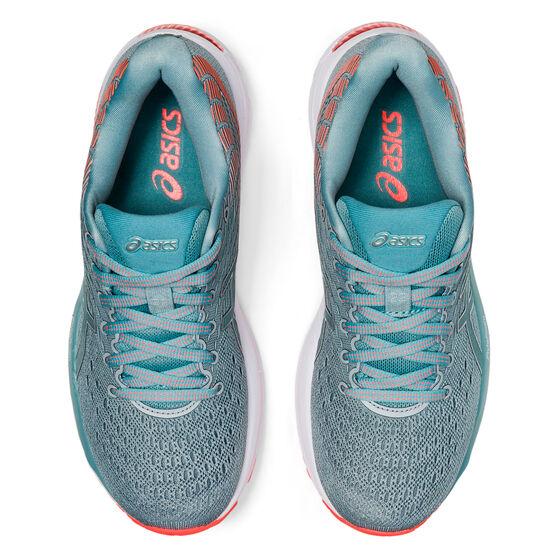 Asics GEL Cumulus 22 D Womens Running Shoes, Grey/Silver, rebel_hi-res