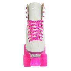 Goldcross Retro Roller Skates Pink US 1, Pink, rebel_hi-res
