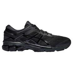 Asics GEL Kayano 26 4E Mens Running Shoes Black US 7, Black, rebel_hi-res