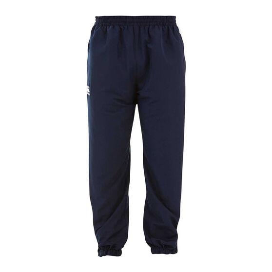 Canterbury Mens Team Side Panel Track Pants, Navy, rebel_hi-res