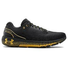 Under Armour HOVR Machina Mens Running Shoes Black US 7, Black, rebel_hi-res