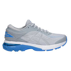 Asics GEL Kayano 25 D Womens Running Shoes Grey / Blue US 6, Grey / Blue, rebel_hi-res