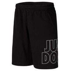 Nike Mens Sportswear Just Do It Shorts Black S, Black, rebel_hi-res