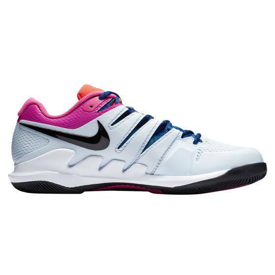 Nike Air Zoom Vapor X Hardcourt Mens Tennis Shoes, Blue / Black, rebel_hi-res