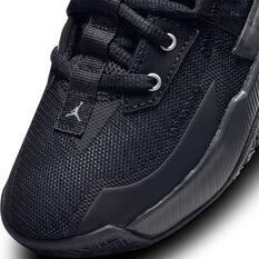 Jordan One Take II Kids Basketball Shoes, Black, rebel_hi-res
