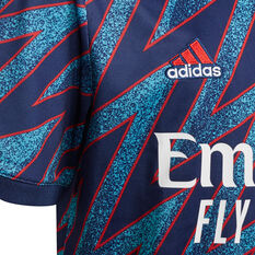 Arsenal 2021/22 Youth Replica 3rd Jersey Blue 8, Blue, rebel_hi-res