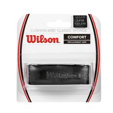 Wilson Cushion Aire Classic Sponge Grip Black, , rebel_hi-res
