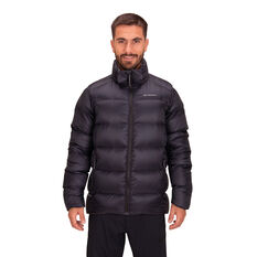 Macpac Mens Sundowner Hooded Jacket Black S, Black, rebel_hi-res