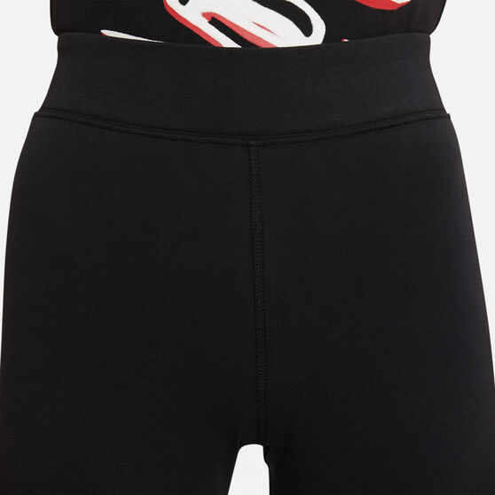 Nike Womens Sportswear Essential High-Rise Leggings, Black, rebel_hi-res
