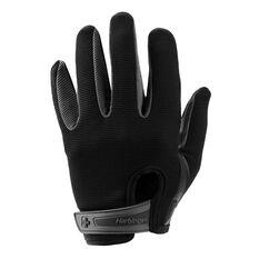 Harbinger Full Finger Mens Power Glove Black S, Black, rebel_hi-res