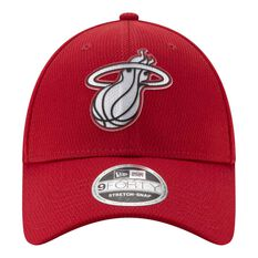 Miami Heat New Era 9FORTY Back Half Stretch Snap Cap, , rebel_hi-res