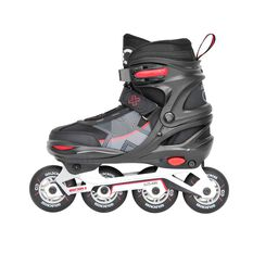 Goldcross GXC285 Inline Skates Red 3-6, Red, rebel_hi-res